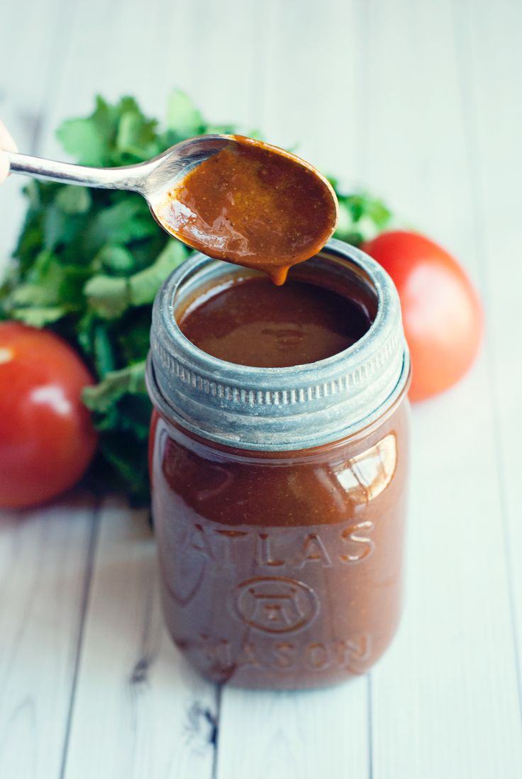 This recipe for enchilada sauce contains ZERO tomatoes, and all the flavor of authentic Mexican cuisine. Try this and you'll never go back to canned again!