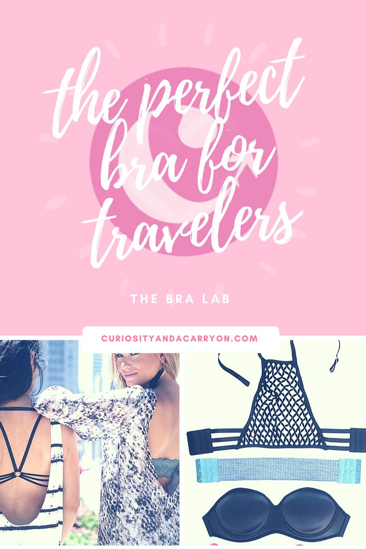 The perfect bra for travelers offers cute, easy, and comfortable options!