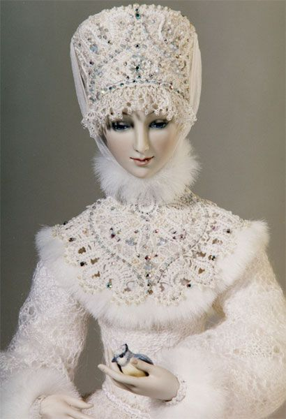 Snowmaiden, Alexandra Koukinova; reminds me of Dr Zhivago