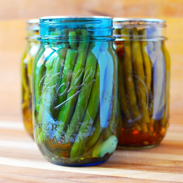 Pickled Dill Beans | Dad Cooks Dinner
