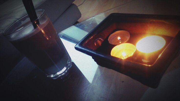Coffee & candles