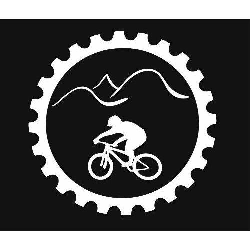 Mountain Bike Downhill Cross Country Chain Ring Vinyl Decal Sticker CUSTOM