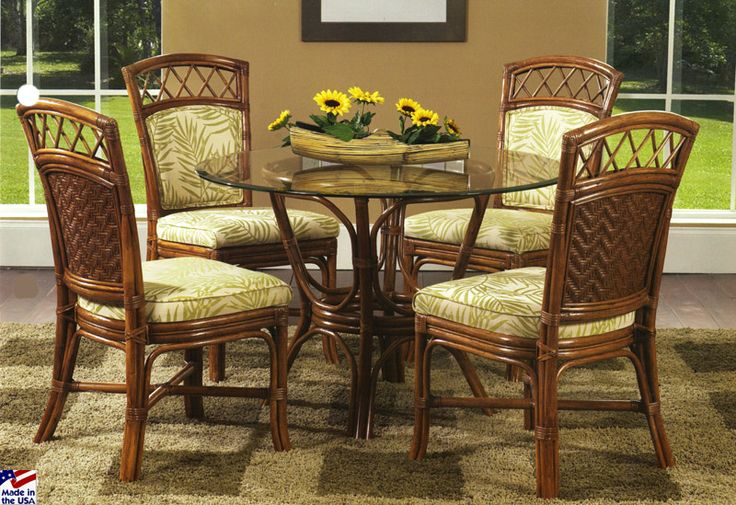 23 Best Images About Indoor Wicker And Rattan Dining Sets