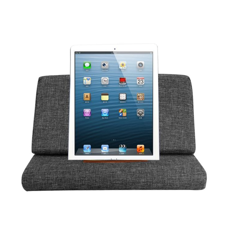Eworld - Tablet Pillow Holder - iPad Pillow Tablet Stand Sofa Book Rest Support Reading Wedge Pillow for Bed/Book/iPad/Nexus/Galaxy