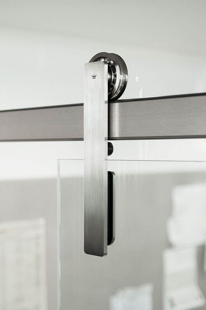 The Ragnar Modern Barn Door Hardware System Is Industry Leader In Gl Installations