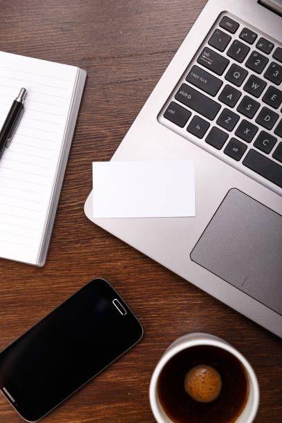 blank business card design laptop smartphone #BestBusinessCards