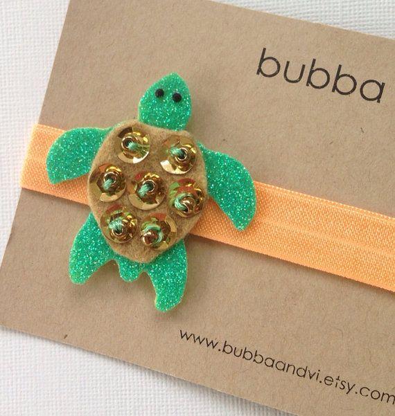 Glitter Hair Clip Sea Turtle Hair Clip