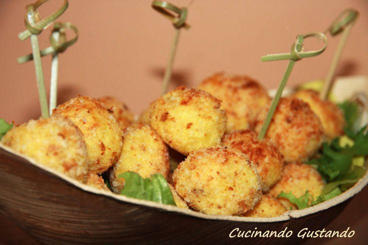 Polpette di patate e parmigiano