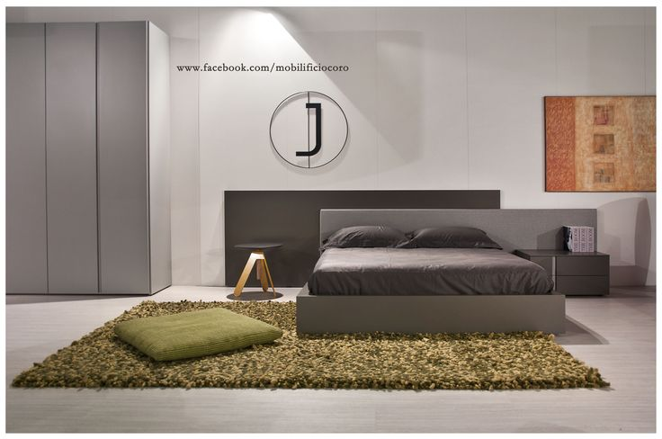 letto Jesse laccato opaco e tessuto  #design #mobilificiocoro #nights #dream #interiors #homedesign