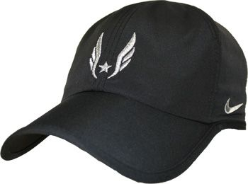 Nike USATF Men's Feather Light Dri-FIT Hat II - Black