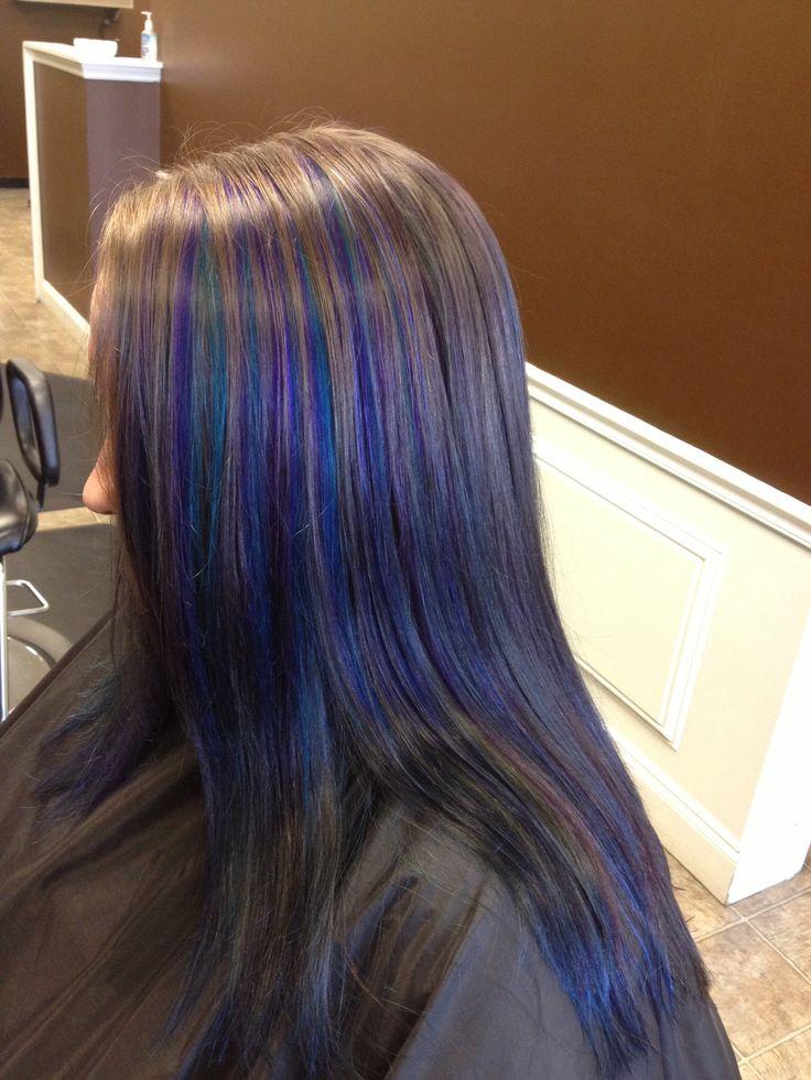 Peacock Hair Color Purple Hair Blue  Hair Stuff  Pinterest  Peacocks Colo