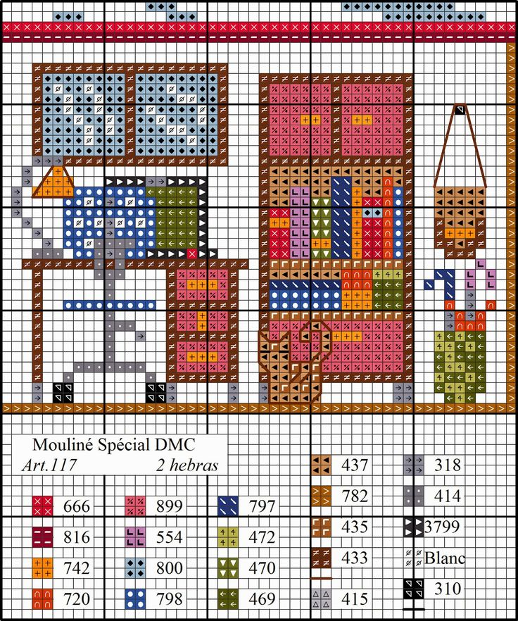 O Blog da DMC: Esquema casa em ponto de cruz: o escritório