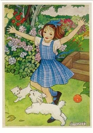 Illustration by Rie Cramer (1887-1977), Dutch