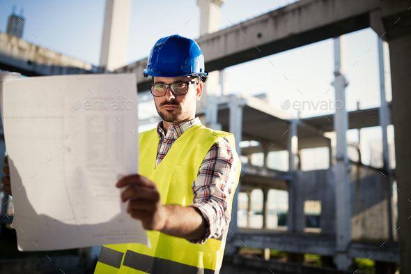 Construction Foreman On The Job Site Graphic Design Portfolio Inspiration Branding Design Inspiration Business Logo Inspiration