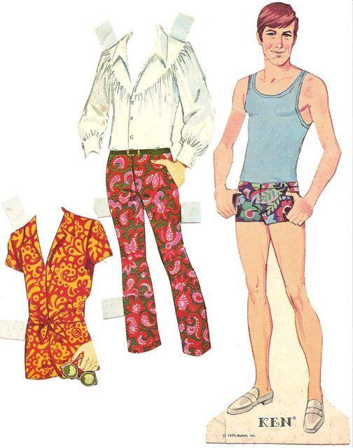 Lavoretti per bambini, creare una bambola di carta, da vestire con abiti presi dalle riviste - TUTTO MAMMA