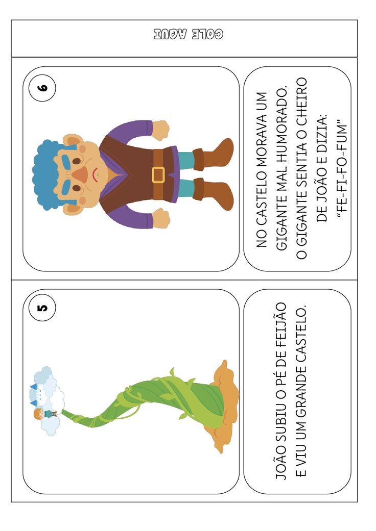 Atividades João e o Pé de Feijão, Livrinho João e o Pé de Feijão