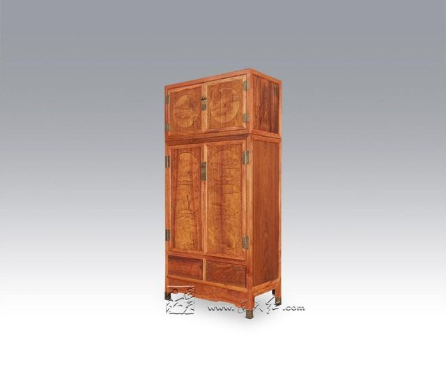 Bedroom Furniture China Antique Solid Wood wardrobe Rosewood 4 Doors Drawers Closet Bed Room Almirah Crafts can be customized