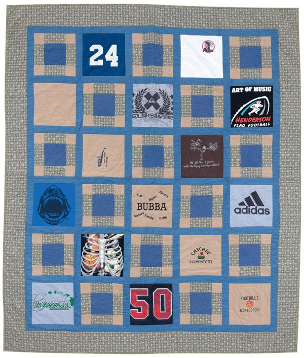 Free Easy Memory Quilt Patterns : 17 Best images about T-Shirt Quilts on Pinterest Baby clothes quilt, Mecca and Quilt