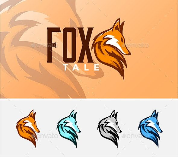 Fox Head Mascot Di 2021