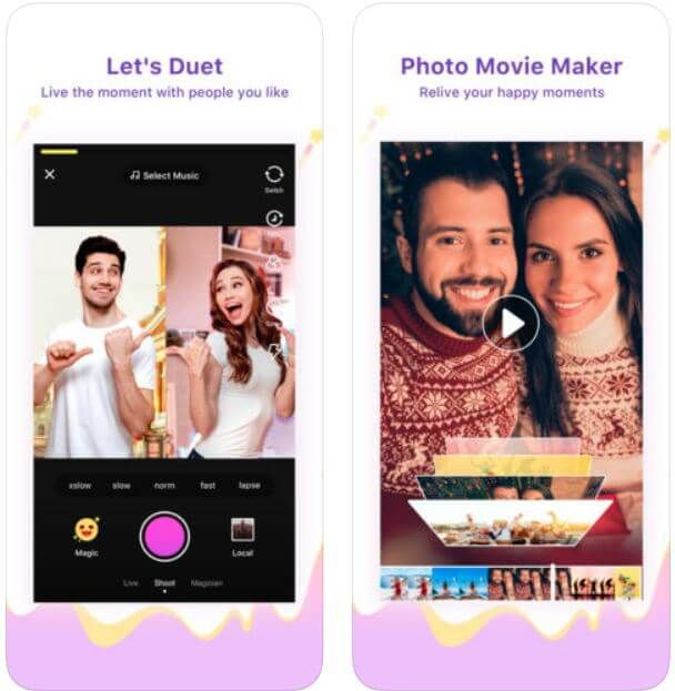 Best 5 Apps Like Tiktok Alternatives For Iphone Android To Show Your True Hidden Talent Social Networking Apps Iphone Most Popular Videos