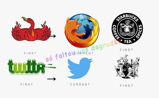 Você vai ficar chocado com esse post dos primeiros logotipos de marcas famosas!