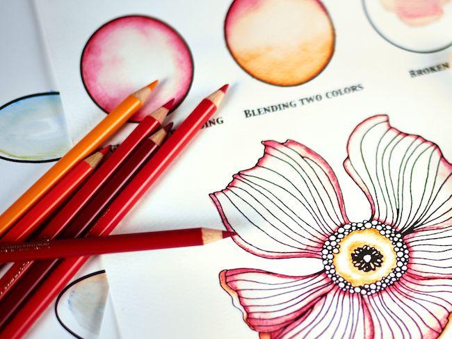 Arteza Skin Tones Using Arteza Colored Pencils Created By Josilix