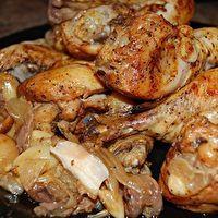 Beer Crockpot Chicken by Ashley