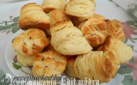 Leveles pogácsa recept fotóval
