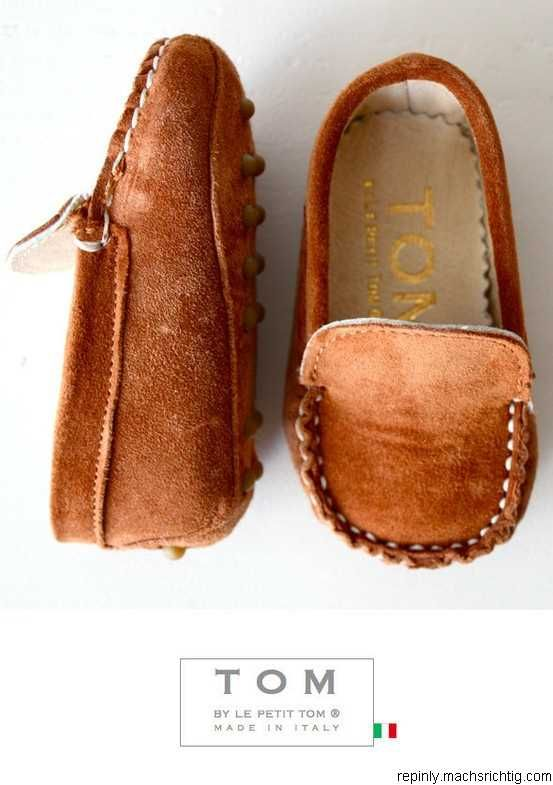 Baby Tom MOCCASINS! These r adorable!