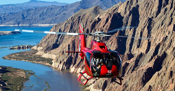 Grand Canyon Helicopters - Deals on Tours from Las Vegas, NV, and Tusayan, AZ, South Rim.