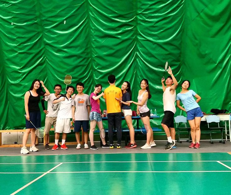 Badmin-DONE!  #badminton #team #HNA #Hainan #Haikou #China #sports #fitness #skills #smash #dropshot #racket #friends #internship #joy #happy #fun #pun #Oxford #student #ukig #hkig #summer #nofilter http://butimag.com/ipost/1555033374233790922/?code=BWUlp1tFQnK