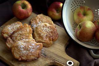 Pobite gary Barbary: Racuchy drożdżowe z jabłkami