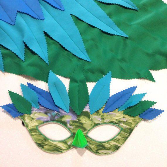Bird Costume Set Bird Wings and Mask set.