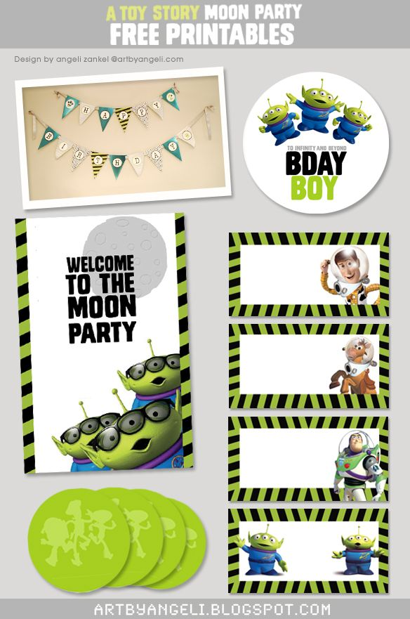 Toy Story Party Free Printables