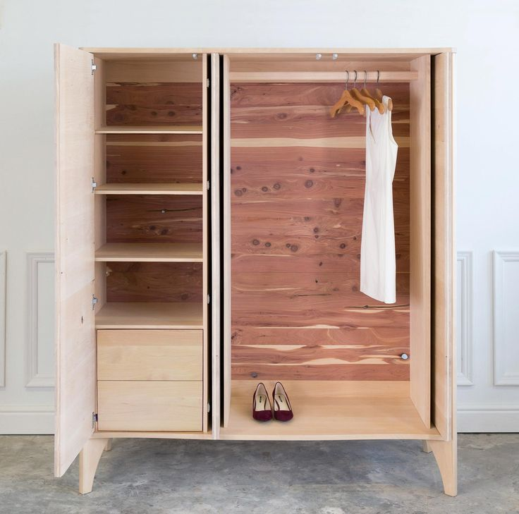 Noah Armoire - Handcrafted Wooden Furniture