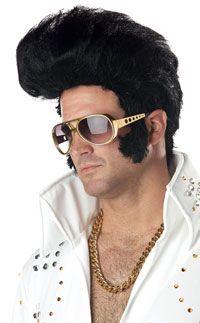 Black Rock N' Roll Wig – Costume Wigs « Mutant Faces