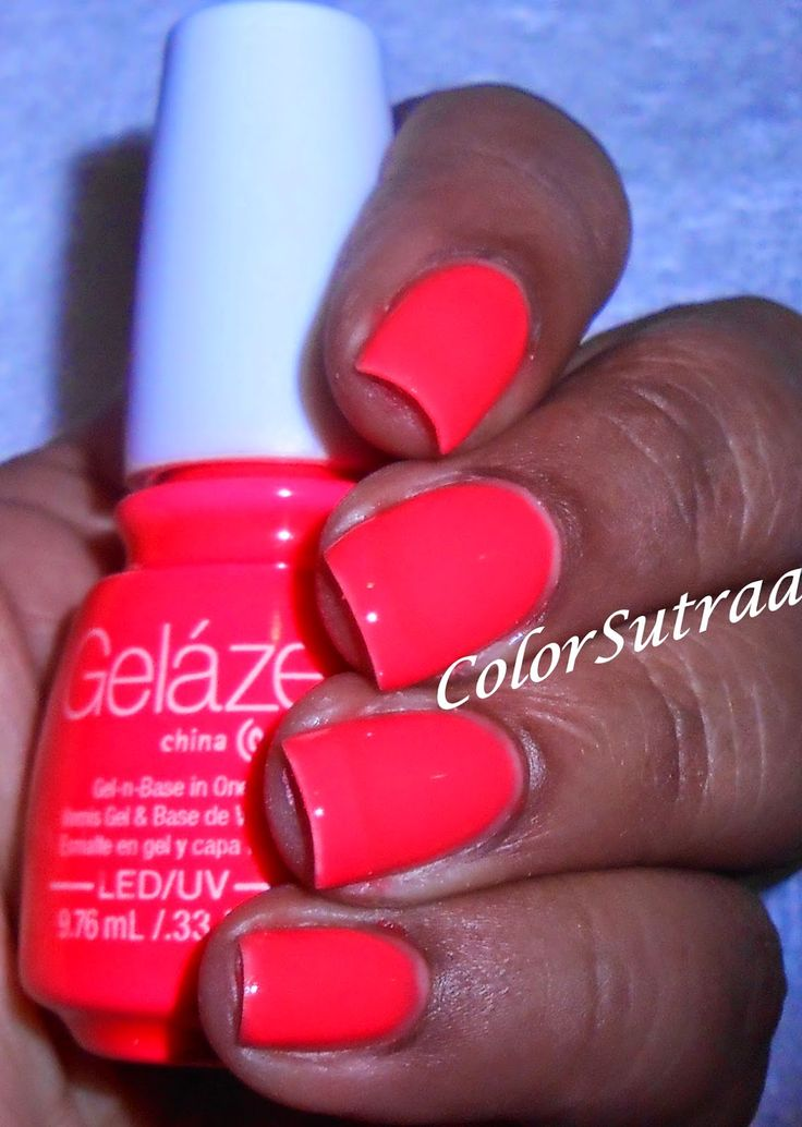 ColorSutraa: FIRST LOOK at GELAZE by CHINA GLAZE : Press Event pics and tutorial
