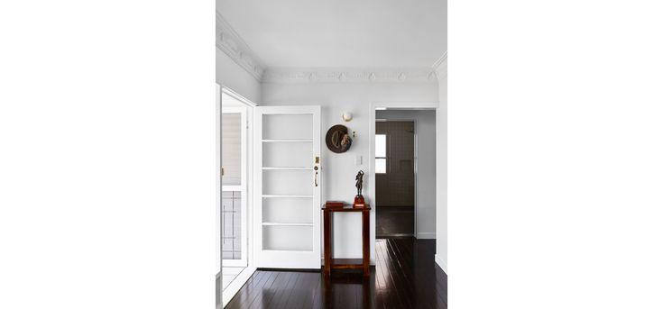 Monash Rd House, Tarragindi, Zuzana&Nicholas Architects, Brisbane House Renovation, Kitchen and Bathroom, entry space