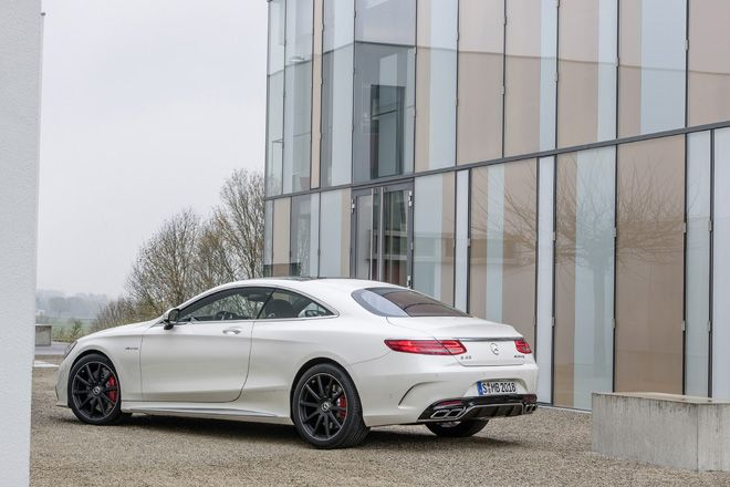 The new Mercedes Benz S 63 AMG Coupé