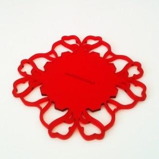 Ahmet Bardak Altlığı http://www.nishmoda.com/ahmet-bardak-altligi?filter_name=k%C4%B1rm%C4%B1z%C4%B1 #tarz #kırmızı #tasarım #moda #tasarımcı #design #style #fashion #red #tea #teasaucer #saucer #mat #original #different