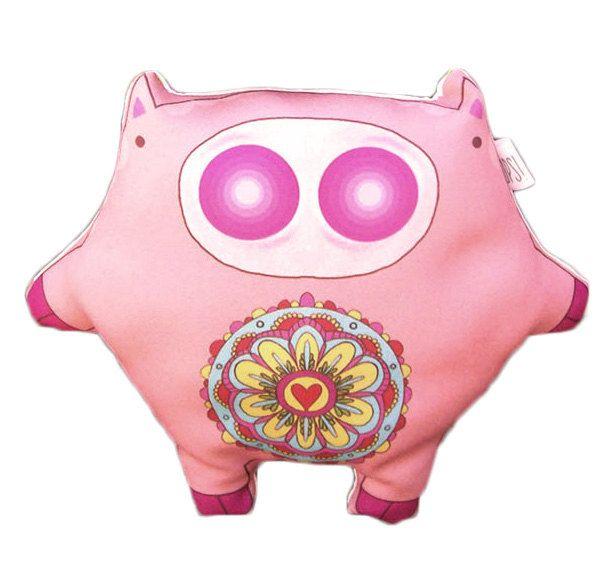 Muñeco Chanchito Mandala -  Mandala Pig doll de JessicaIlustradora en Etsy