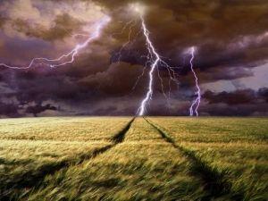Народные приметы о громе, молнии и грозе