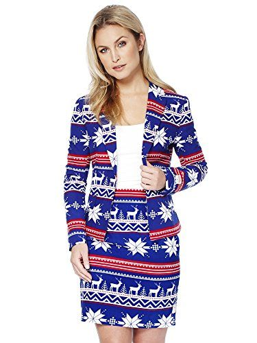 0d227a478d81 opposuits  abiti divertenti per Natale - Completo  giacca e gonna ...