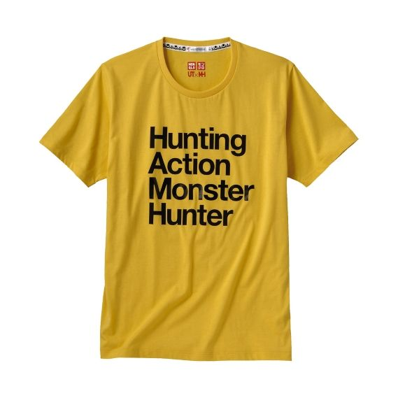 MONSTER HUNTER Short Sleeve Graphic T Shirt C2