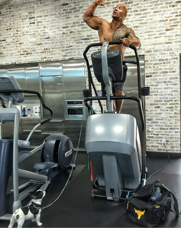 Dwayne The Rock Johnson Is Known For His Large Physique But Few Know Where Its Built The Rock Has One Of The Most Weekend Workout At Home Gym Dwayne The Rock