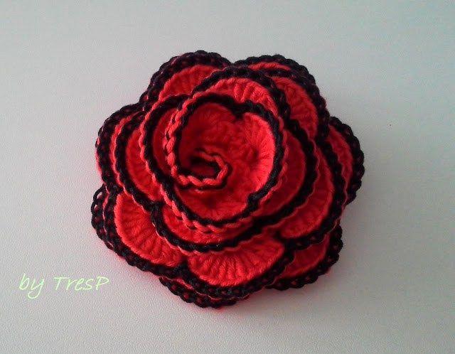13 best Puntillas, Puntos y Flores crochet images on Pinterest ...
