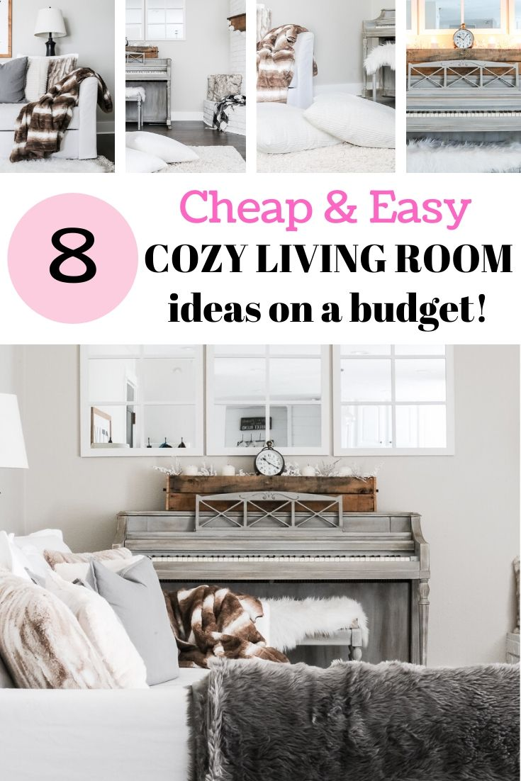 Simple Cozy Living Room Ideas On A Budget For Winter Cozy Living Rooms Living Room On A Budget Cozy Living