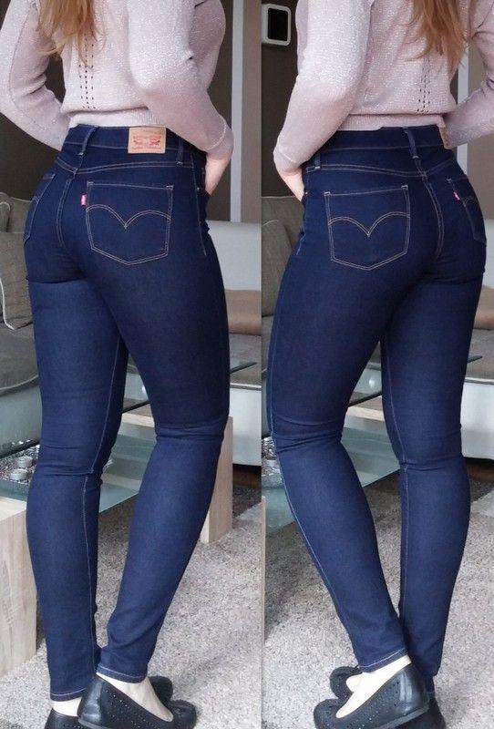 bbafe9f565c27 Levi s 311 Shaping Skinny 27x32 Dunkelblaue Shaping Skinny Jeans von Levi s