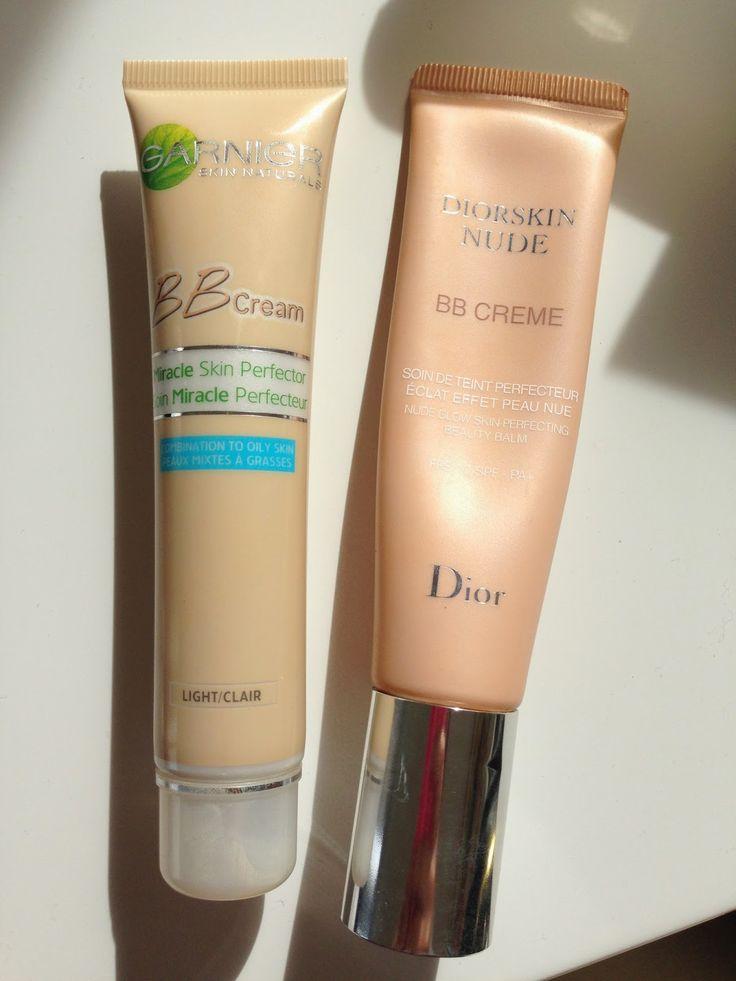 Diorskin Nude BB Creme // DUPE: Garnier BB Cream Miracle Skin Perfector