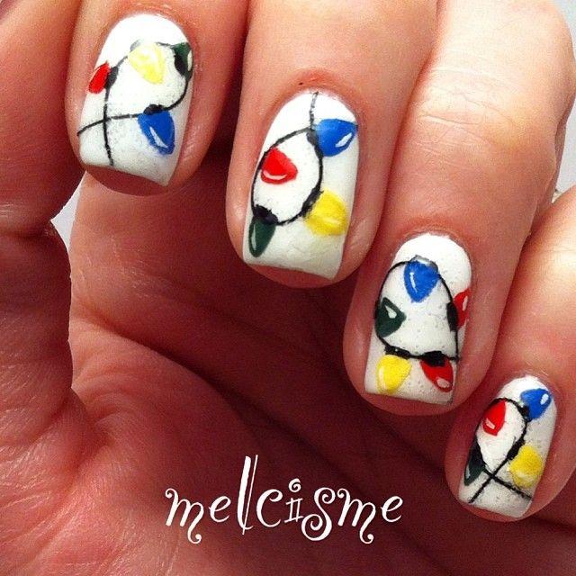 christmas by melcisme #nail #nails #nailart